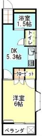 シュールハイツ1階Fの間取り画像