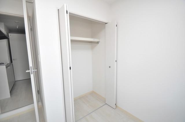 セゾンクレアスタイル新今里 もちろん収納スペースも確保。お部屋がスッキリ片付きますね。