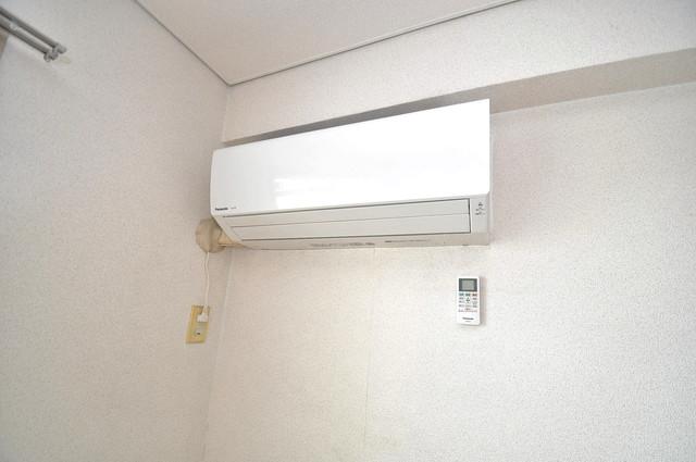 ブルーメンハウス エアコンがあるのはうれしいですね。ちょっぴり得した気分。