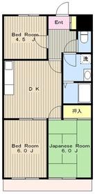湘南台駅 徒歩8分3階Fの間取り画像