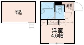 プライムテラス中野島2階Fの間取り画像