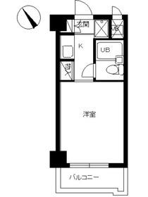 スカイコート西川口第72階Fの間取り画像
