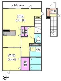 (仮称)西蒲田4丁目新築アパートE棟 201号室