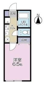 エスパーダ赤塚2階Fの間取り画像