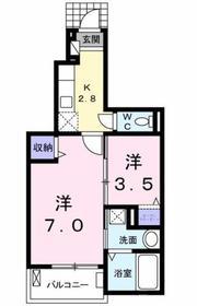 昭島駅 徒歩12分1階Fの間取り画像
