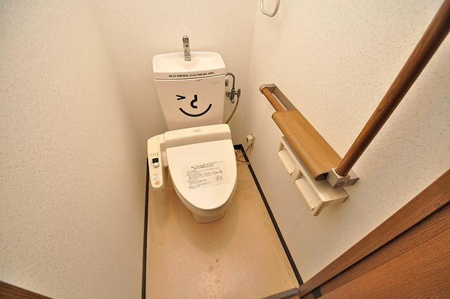 トリニティ加美東 清潔感のある爽やかなトイレ。誰もがリラックスできる空間です。
