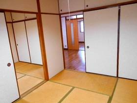 玄関から見て左側の和室(続き和室)