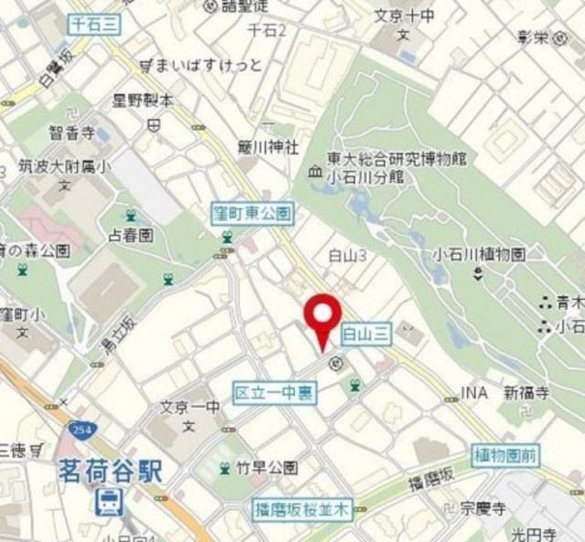 小石川フィエルテ案内図