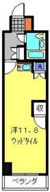 蒔田ダイヤモンドマンション2階Fの間取り画像
