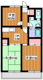 西高島平駅 徒歩4分3階Fの間取り画像