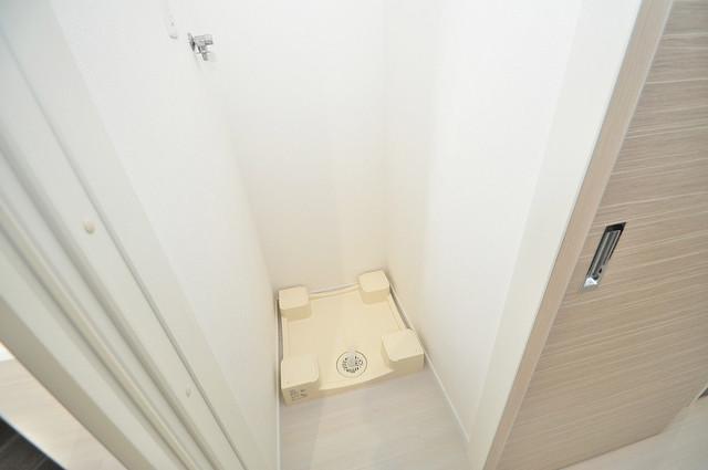 ヴェルテックス 室内に洗濯機置き場があれば雨の日でも安心ですね。