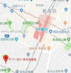 椎名町駅 徒歩14分案内図