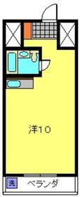 柿田ビル2階Fの間取り画像