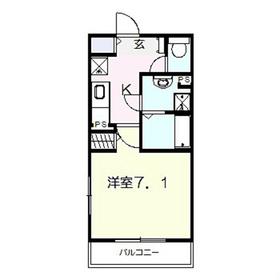 フリージア本郷台2階Fの間取り画像