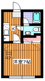 地下鉄成増駅 徒歩3分1階Fの間取り画像