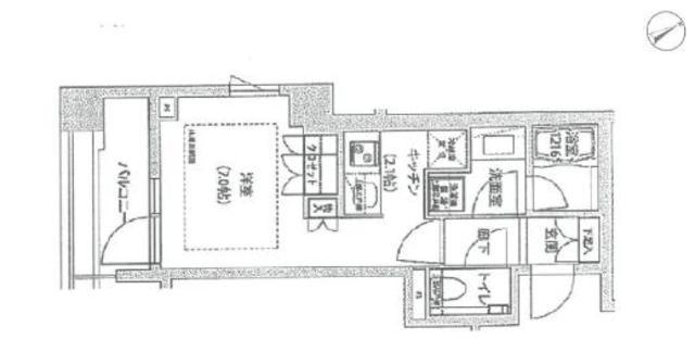 六本木駅 徒歩3分間取図