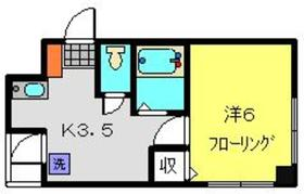 ビューハイムコヤナギ睦3階Fの間取り画像