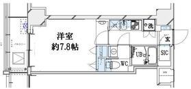 グランリーヴェル横濱大通り公園9階Fの間取り画像