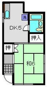 ストークハイツ須澤1階Fの間取り画像