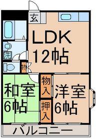 間取り図!LDK12帖 和6帖 洋6帖!