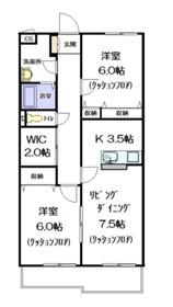 アステイオンⅠ3階Fの間取り画像