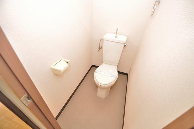 メゾンタツミ 清潔感たっぷりのトイレです。入るとホッとする、そんな空間。