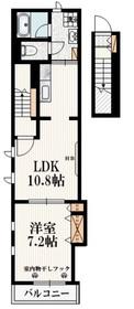アークデュール2階Fの間取り画像
