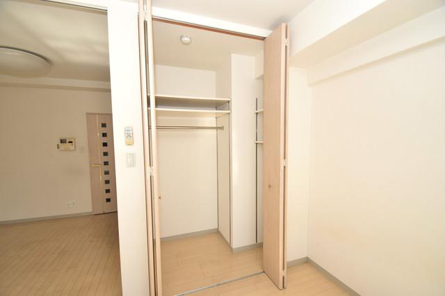 メゾン・ド・成屋大阪 もちろん収納スペースも確保。いたれりつくせりのお部屋です。