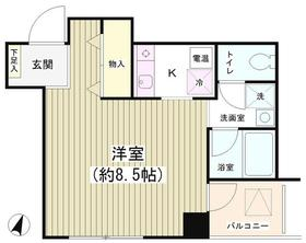 TKR神田多町4階Fの間取り画像