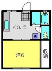 メゾンエミネンスA2階Fの間取り画像