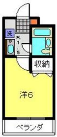 日吉本町駅 徒歩15分4階Fの間取り画像