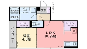 セジュール トリニテII3階Fの間取り画像