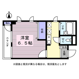 エストレア大倉山3階Fの間取り画像