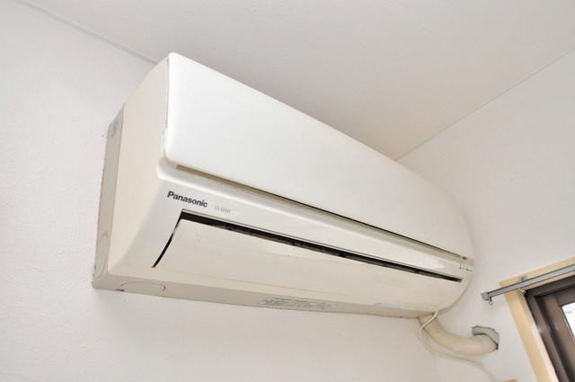 メルヘン新今里 エアコンがあるのはうれしいですね。ちょっぴり得した気分。