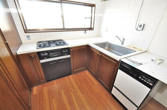 ラ・フォーレ大蓮 システムキッチンは広々と使えて、お料理が楽しくなります。
