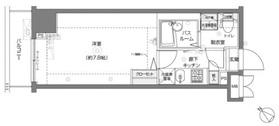 フェニックス横濱関内BAY MARKS2階Fの間取り画像