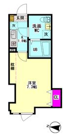 グランレイム糀谷 203号室