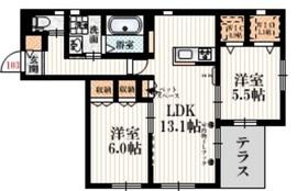 Ma・maison 3751階Fの間取り画像