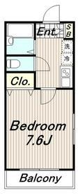 OHマンション3階Fの間取り画像