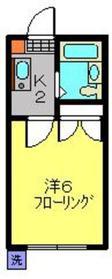 グランディー井田1階Fの間取り画像