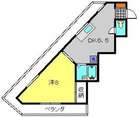 Route1 Seiwa4階Fの間取り画像