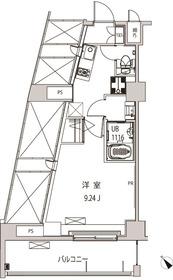 グローリア十条5階Fの間取り画像