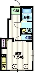 ラ メゾン デュ レスポワ1階Fの間取り画像