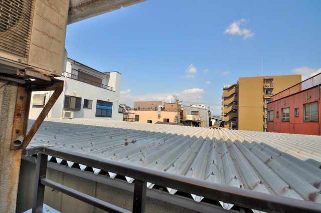 MINTIA北巽 この見晴らしが陽当たりのイイお部屋を作ってます。