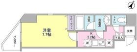 グラティア日本橋3階Fの間取り画像