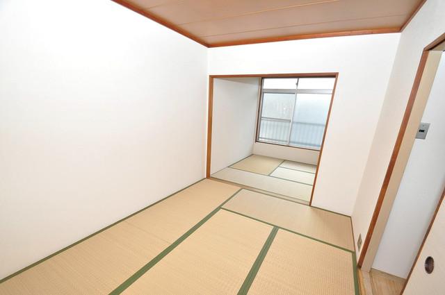 永和ハイツ 朝には心地よい光が差し込む、このお部屋でお休みください。
