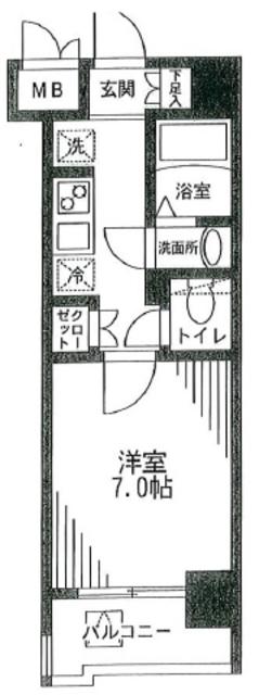 新宿駅 徒歩4分間取図