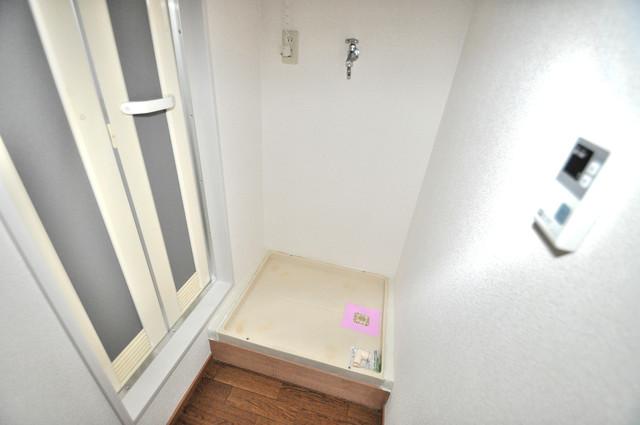 メゾン・ド・ソレイユ 室内に洗濯機置き場があれば雨の日でも安心ですね。