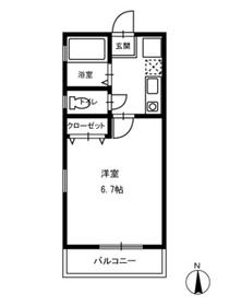 日吉駅 徒歩4分3階Fの間取り画像