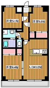 東武練馬駅 徒歩12分2階Fの間取り画像